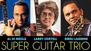 Super Guitar Trio: Al Di Meola, Larry Coryell, Bireli Lagrene - Live in Concert 1989