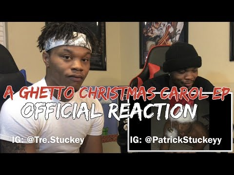 "XXXTentacion A Ghetto Christmas Carol EP"" REACTION"
