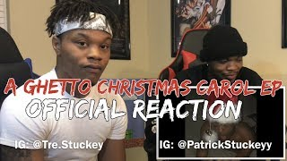 "XXXTentacion ""A Ghetto Christmas Carol EP"" REACTION"