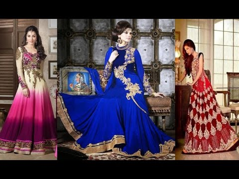 ef71a023e Latest Long Anarkali Dress Designs Patterns For All Occassions ...
