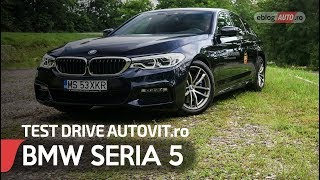 2018 BMW 530d ( SERIA 5 )   TEST DRIVE AUTOVIT.ro   BMW XCARS MURES