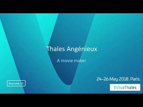 Thales Angénieux : a movie maker
