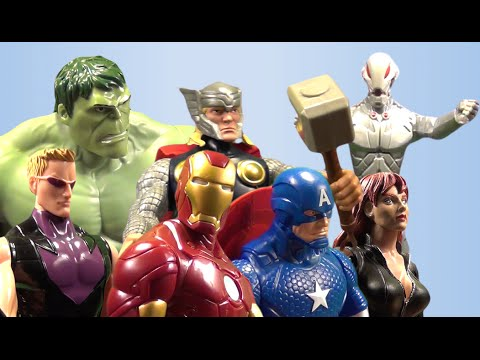 Toy Avengers: Age of Ultron - Spoof Action Figure Remake