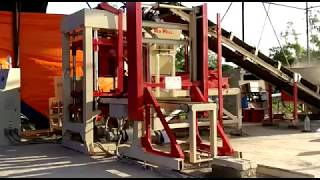 Fly Ash Brick Making Machine Manufacturers Process Video
