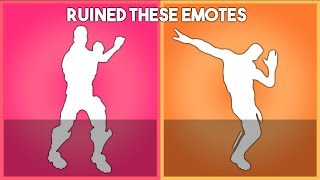 Fortnite Ruined these emotes... Here's why!