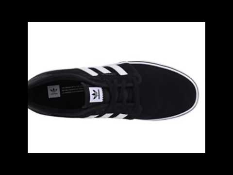 adidas originali uomini seeley pattinare scarpa su youtube