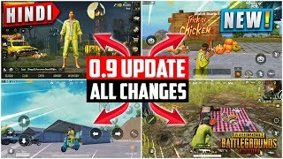 🔥PUBG 0.9 BETA UPDATE ALL CHANGES | NEW MENU, SPECTATE ENEMY, DAY NIGHT CYCLE | HINDI PUBG GAMING Mp3
