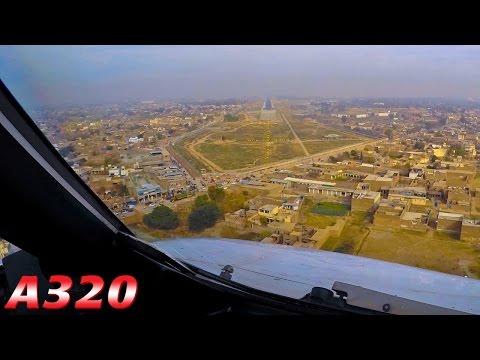 High Terrain & Landing at PESHAWAR PAKISTAN