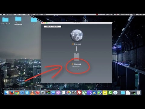 How to restart AirPort Extreme / Time Capsule Remotely