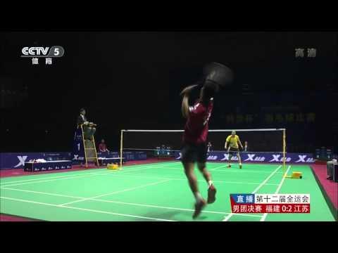 [HD] MT - F - MS2 - Tian Houwei vs Chen Jin - 2013 National Games of China