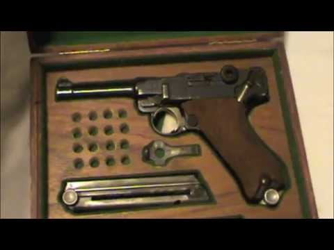 1921 German Police DWM Luger - Unboxing