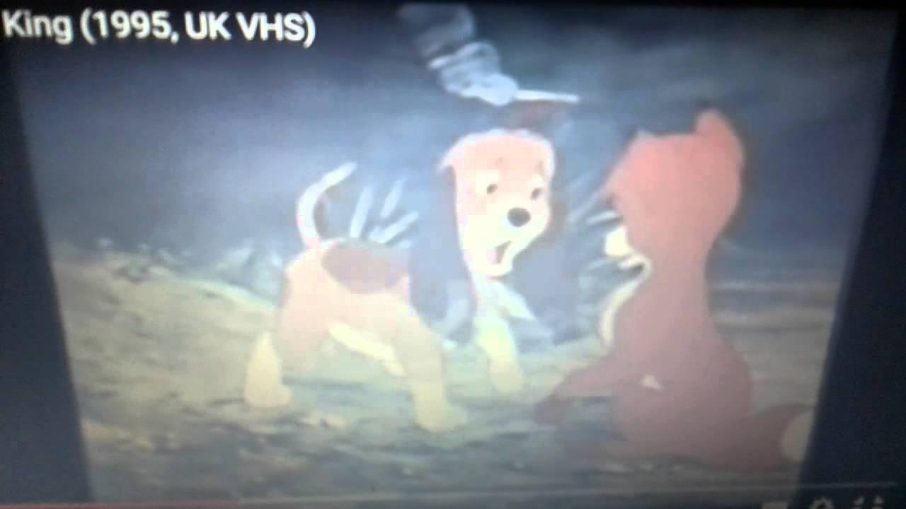 opening the lion king  20th september 1995  vhs uk