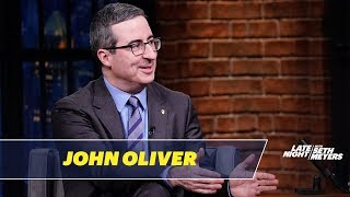 John Oliver Thinks It\'s Too Early to Talk About the 2020 Elections
