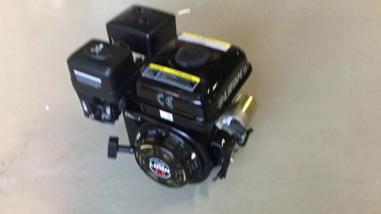 Двигатель Лифан 170FD 7 л/с вал 20 мм электростартер