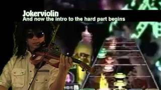Jokerviolin plays Dragonforce on Electric Violin (Through the Fire and Flames)