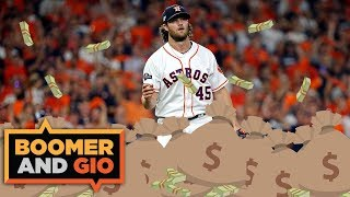 Yankees sign Gerrit Cole to a $324 MILLION contract | Boomer & Gio