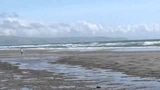 Talybont beach