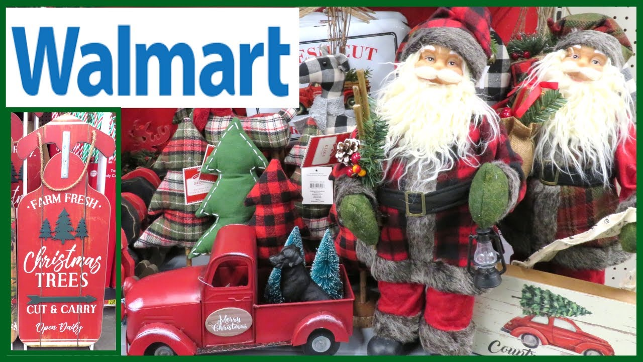 Is Wal Mart Open On Christmas.Walmart Christmas Fall Decor 2019