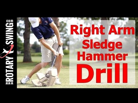 Increase Your Golf Swing Speed w/ the Right Shoulder Drill
