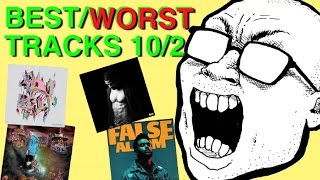 BEST & WORST TRACKS: 10/2 (Kid Cudi, Korn, The Weeknd, Captain Murphy)