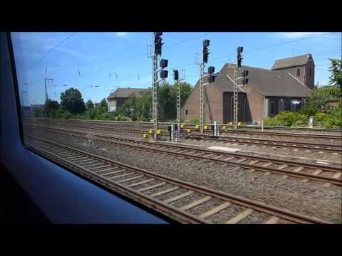 ICE 126 International Frankfurt Hbf - Köln Hbf - Amsterdam Centraal (July 2015)