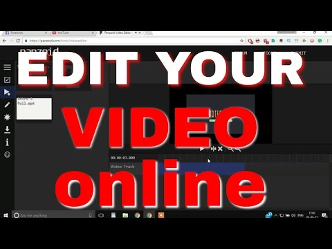 EDIT YOUR VIDEOS ONLINE   Very Esey Video Editing   No Watermark