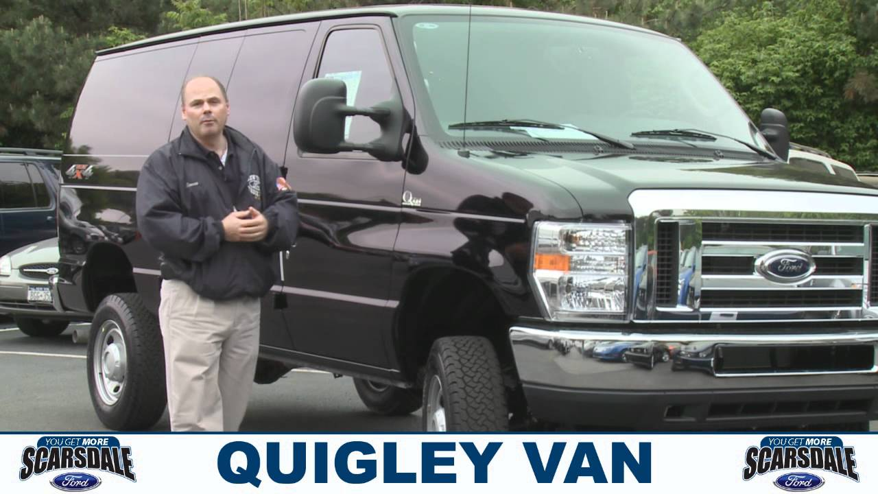 2011 Quigley Van Scarsdale Ford Youtube