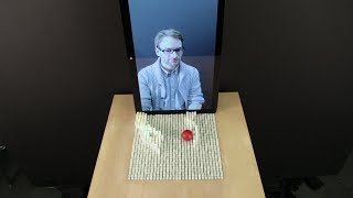 inFORM - Interacting With a Dynamic Shape Display(inFORM is a Dynamic Shape Display that can render 3D content physically, so users can interact with digital information in a tangible way. inFORM can also ..., 2013-11-12T16:39:33.000Z)