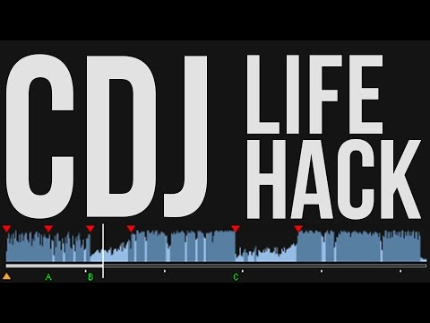 CDJ Life Hack: Waveform Tip