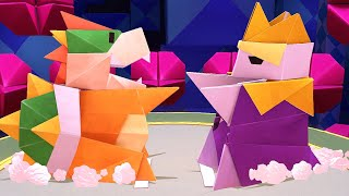 Paper Mario: The Origami King - Final Boss + Ending