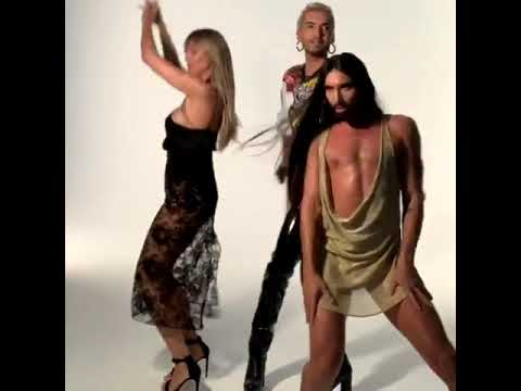 Sexy Latina And Her Friends ;) (Conchita Wurst, Bill Kaulitz, Heidi Klum For The Queen Of Drags)