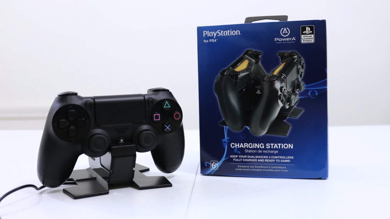 ps4 controller charging dock unboxing first look setup youtube rh youtube com Sony PS3 Controller Battery Replacement GameStop PS3 Charger
