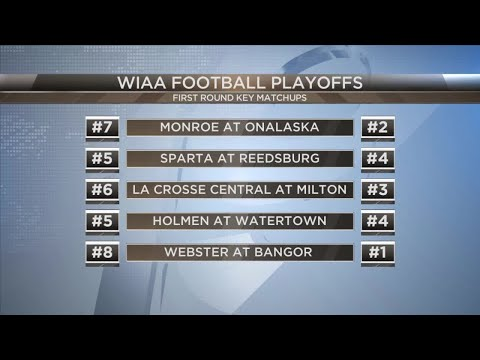 WIAA Football Playoff Brackets Are Out