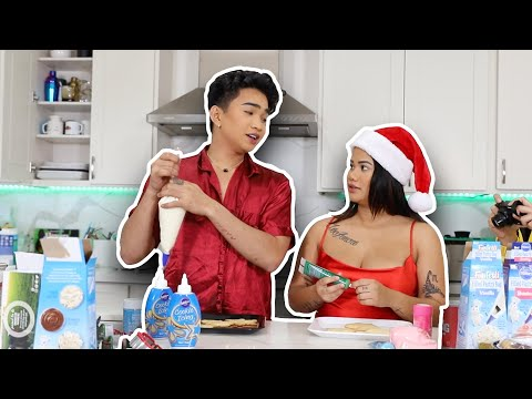 baking-cookies-with-bretmanrock's-sister