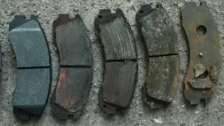 Замена тормозных колодок автомобиля