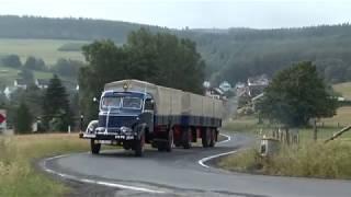 Krupp-LKW-Legenden Faszinierende Oldtimer in Aktion