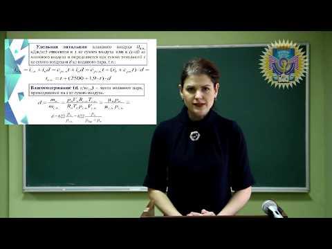 I-d Диаграмма состояния влажного воздуха: структура и область применения
