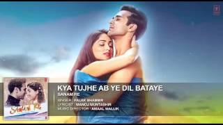 kya tujhe ab ye dil bataye full song by  falak shabir  sanam re