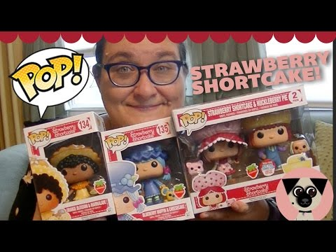 Funko Pop Strawberry Shortcake and Friends! They smell so good!
