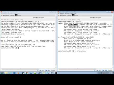 How To Generate An SSH Key On Centos 7 | RHEL7