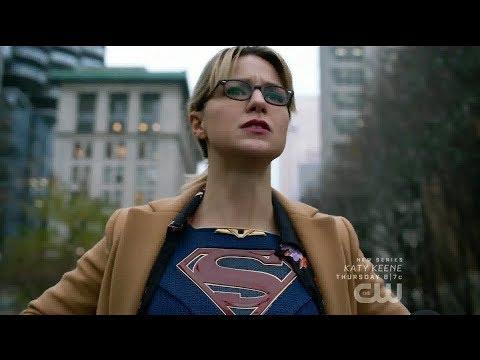 Supergirl 5x13 Supergirl reveals her identity to the world (Alternate Timeline)