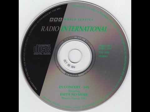 Faith No More: Two Missing Phoenix 1995 Soundboard Recordings