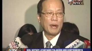 Noynoy Aquino on Willie Revillame