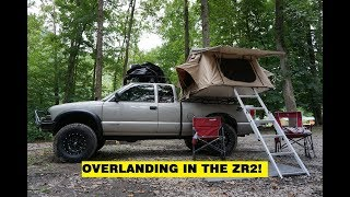 OVERLAND TRIP TO MIDDLE TENNESSEE IN THE ZR2 S10