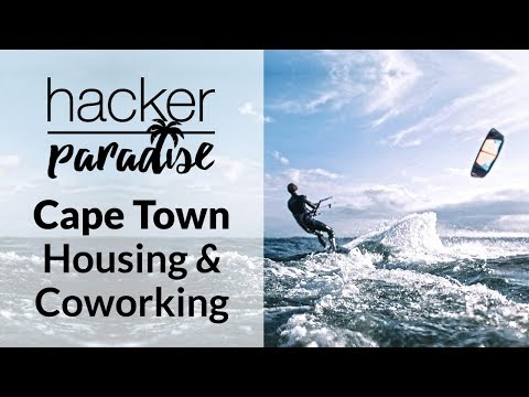 Hacker Paradise in Cape Town 2017: Our Housing & Coworking