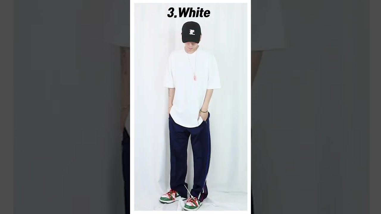 요즘 남자여름코디 1분만에 보기 / Korean t-shirt fashion