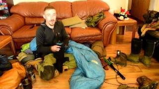 Full Rundown on My Fall Camping/Bushcraft Gear.