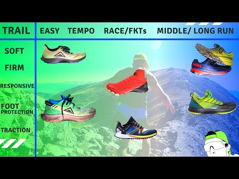 Trail Running Shoe Matrix Early 2020 | DeMoor Global Running
