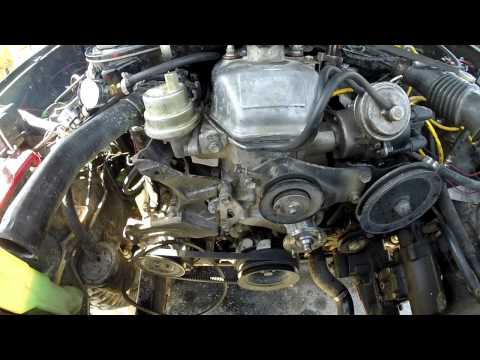 22r Re 81 95 Water Pump Inspection Replacement Youtube