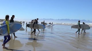 Showcase | Surfing Paddle Out in Cape Town